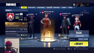 Fortnite Battle Royale :LVL 98!! GRIND TO MAX LVL