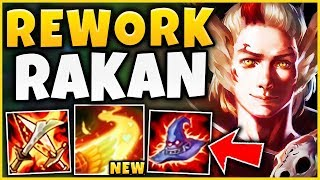 *NEW ULT* 1000+ AP ONE-SHOT RAKAN (NEW IG RAKAN SKIN) S9 RAKAN REWORK GAMEPLAY - League of Legends