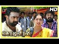 Kodi Veeran Movie Scenes | Vikram challenges Sasikumar | Vidharth praises Sasikumar and Sanusha