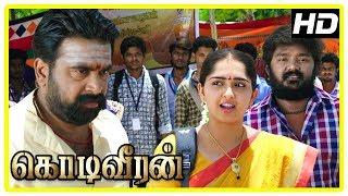 Kodi Veeran Movie Scenes | Vikram challenges Sasikumar | Vidharth praises Sasikumar and Sanusha