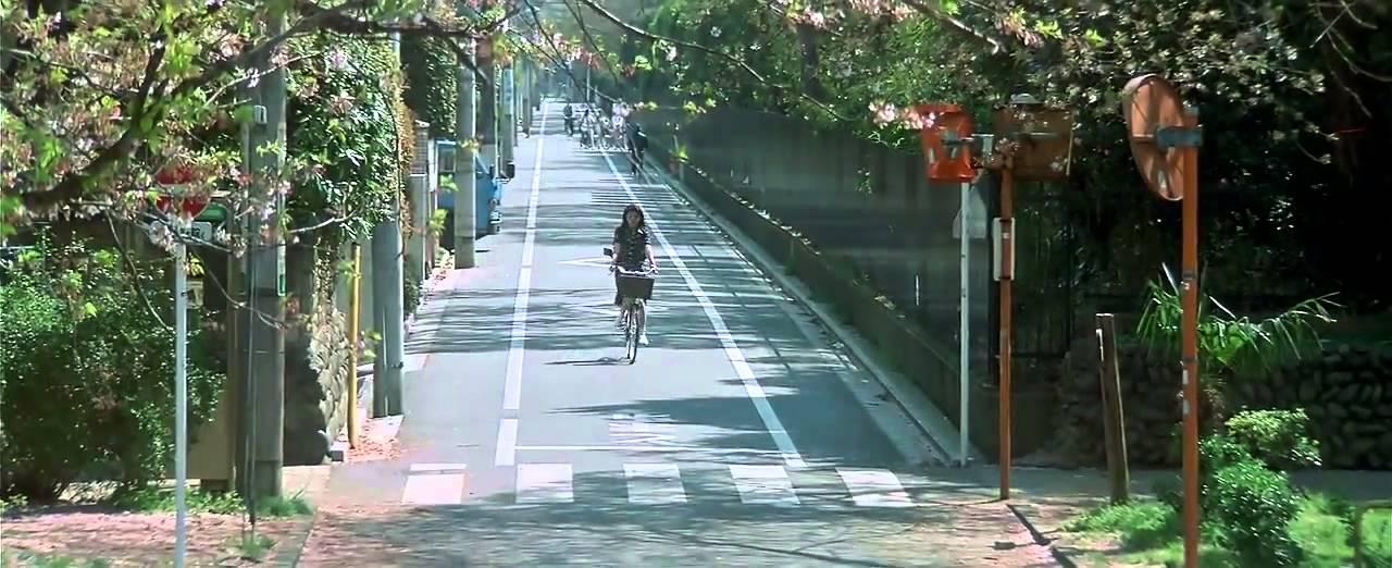 April Story 1998 Matsu Takako bicycle - YouTube