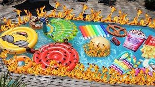 Le sol ç'est de la lave dans la piscine ,adel sami les boys tv