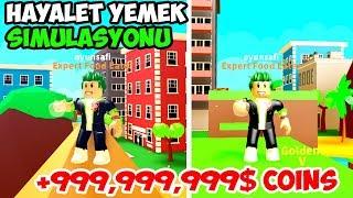 10 DAKİKADA OYUNU YEMEK / Food Simulator / Roblox Türkçe