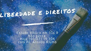 IP Central de Itapeva - Culto de Quarta Feira - 01/07/2020