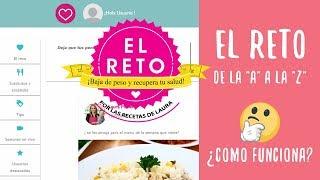 EL RETO para PERDER PESO 2019 - Las Recetas de Laura