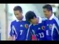 三浦知良33歳 日本代表ラストゴールは中田と中村の華麗な連携から