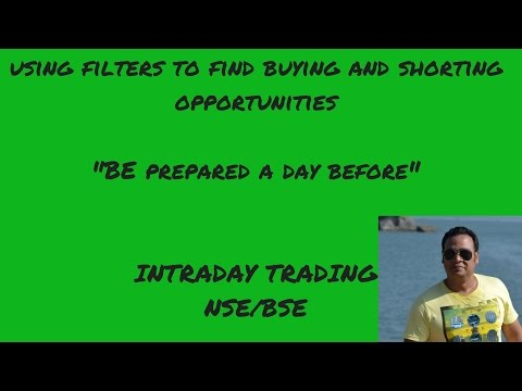 How to use FILTERS to find buying n selling opportunities