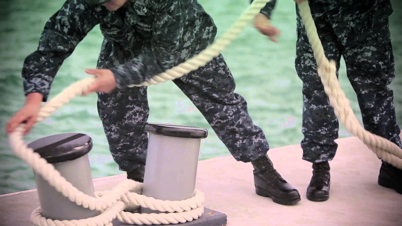 Navy Skills for Life – Knot Tying – Figure Eight