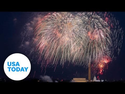 Annual July 4th fireworks celebration on National Mall   USA TODAY