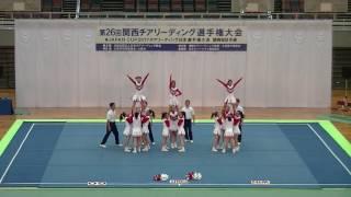 楽スポあすかチアリーディングクラブ BERRYS/第26回関西チアリーディング選手権大会2017