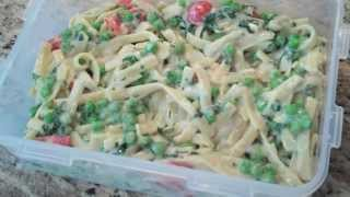Fettuccine  Spinach Alfredo Delish!