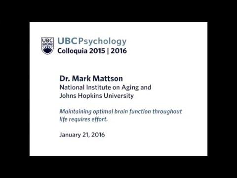 January 21, 2016 | Mark Mattson, Johns Hopkins