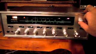 Vintage Sansui 1000a Tube receiver. Repaired and KT66 modified.
