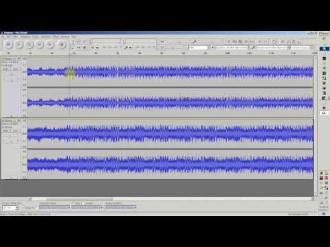 How to make clean/edited versions of songs with audacity