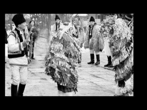 Capra din Mălini  Goat ritual from Malini village