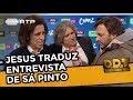 Jorge Jesus Traduz Entrevista De Sá Pinto   Donos Disto Tudo   RTP