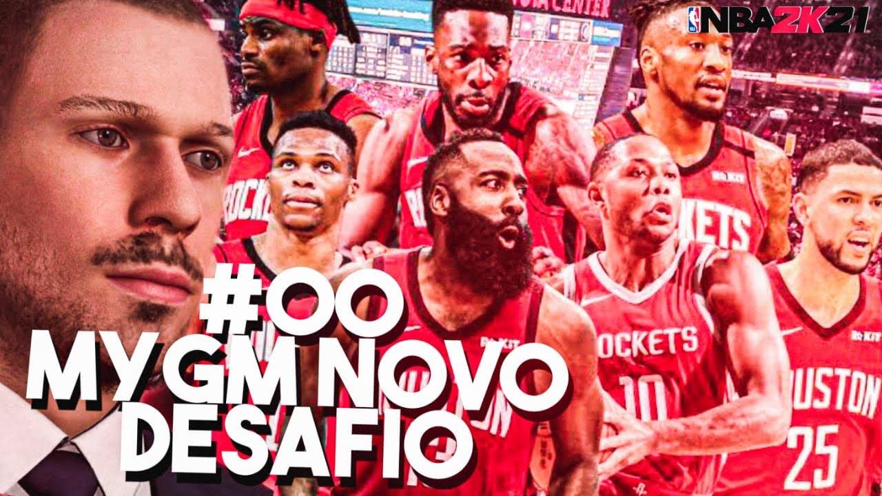 Download MYGM NBA2K21 MODO CARREIRA GM #00 HOUSTON ROCKETS