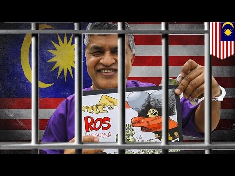 Malaysian cartoonist Zunar arrested as PM Najib Razak continues free speech crackdown - TomoNews