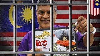 Malaysian cartoonist Zunar arrested as PM Najib Razak continues free speech crackdown - TomoNews