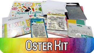 Karten basteln zu Ostern: Special Kit für Karten und Scrapbook Alben