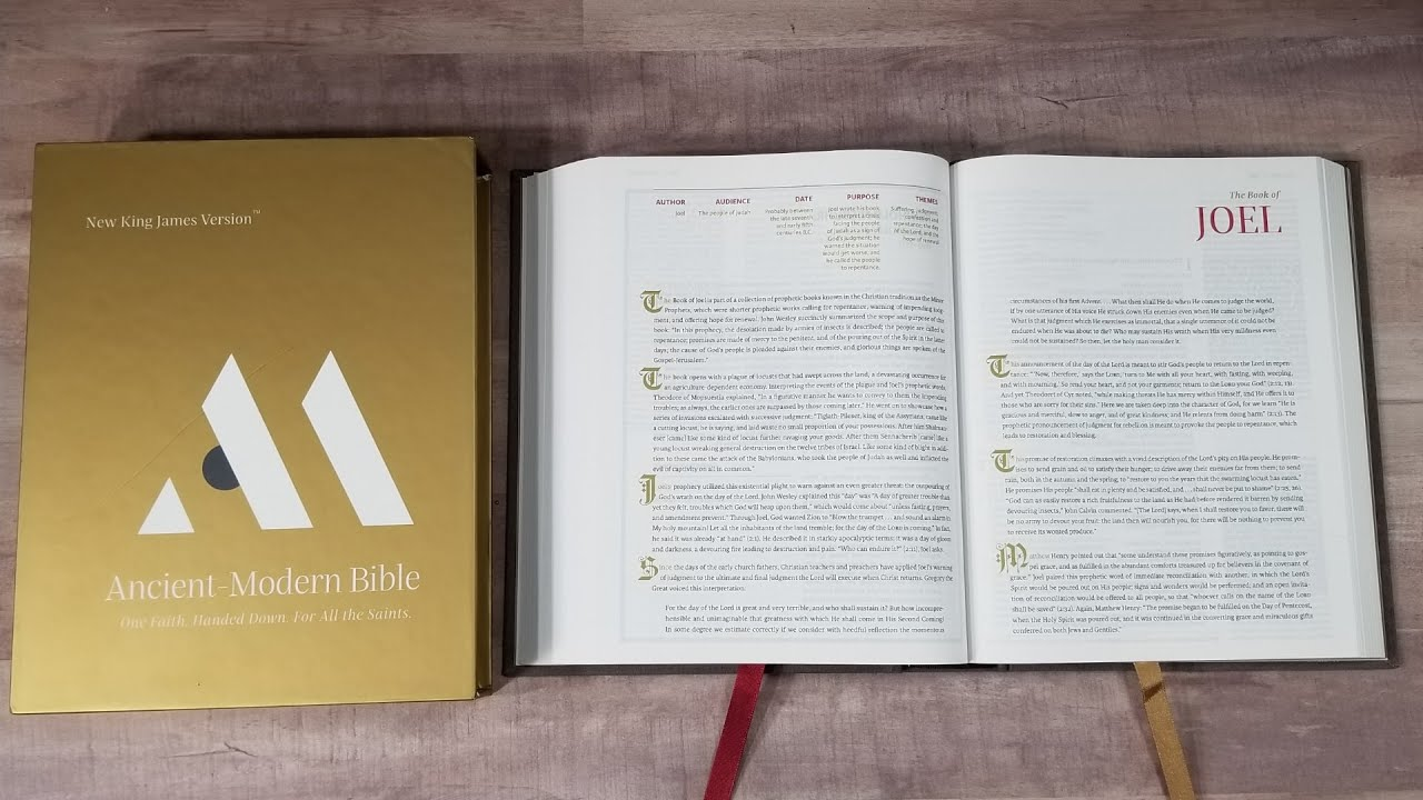 NKJV Ancient Modern Bible Review