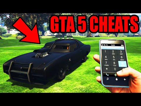 GTA 5 Cheat Codes (Ps4, Xbox One, Pc, Ps3, Xbox 360)