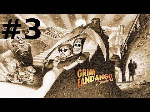 Grim Fandango - Remastered #3 : Petit bateau !