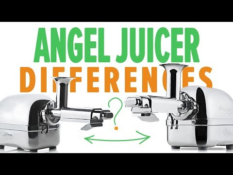 Differences Between Angel Juicers