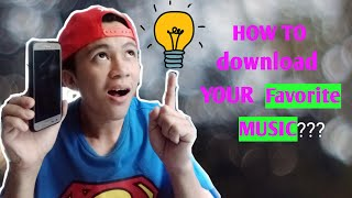 Download How To Download Your Favorite Music | verry easy