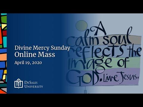 ✟ Sunday Online Mass, April 19, 2020 - DeSales University
