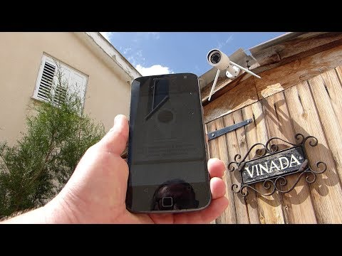 Hikam A7 IP Camera with Human Motion detection