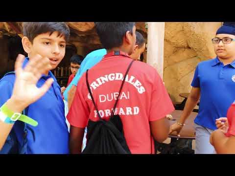 Worlds largest Swimming Lesson – Springdales School Dubai Trip to Wild Wadi Dubai