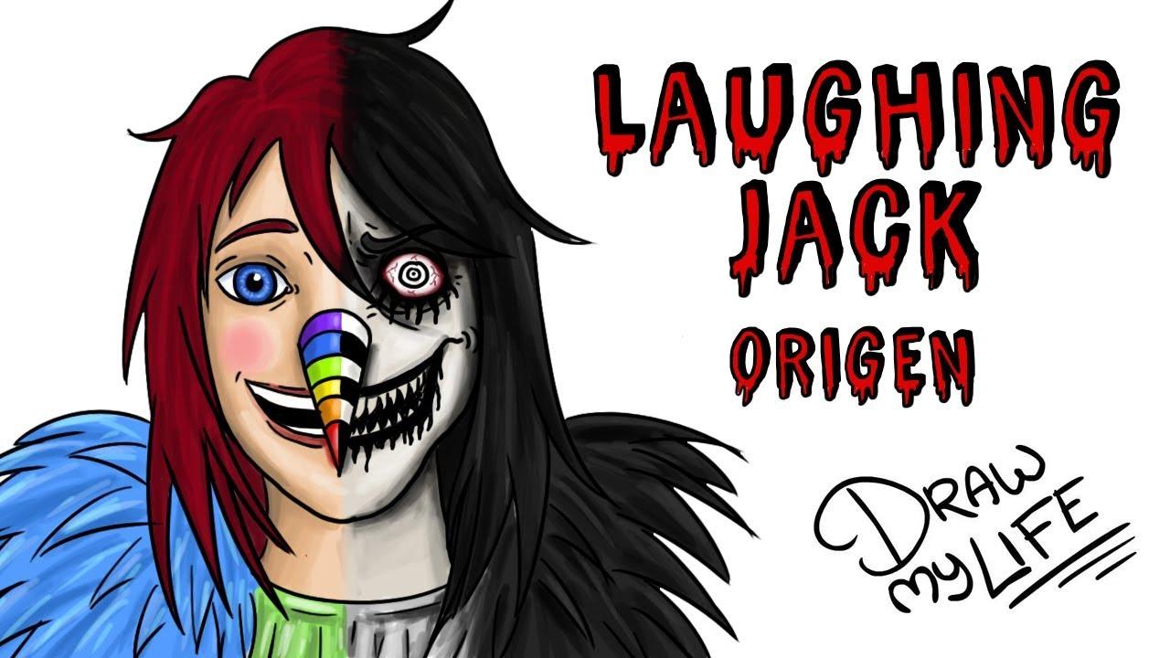 EL ORIGEN DE LAUGHING JACK | Draw My Life Creepypasta