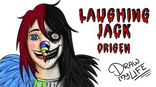 EL ORIGEN DE LAUGHING JACK | Draw My Life Creepypasta thumbnail