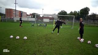 Trening bramkarski (Goalkeeper training)  - Motoryka