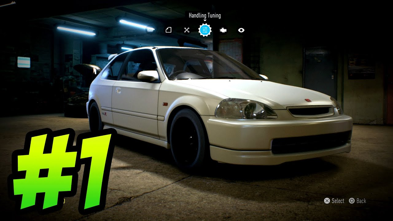 need for speed 2015 gameplay walkthrough part 1 honda. Black Bedroom Furniture Sets. Home Design Ideas