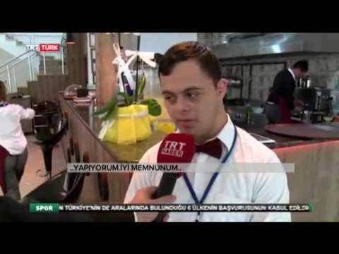 TRT Türk Gökcem Derneği Özel Gereksinimli Gençlerin Çalıştığı Cafe Restaurant Haberi