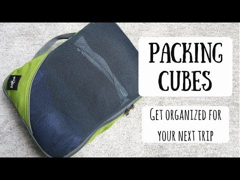 Packing Cubes | Take Your Travel Packing To The Next Level