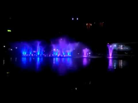 dancing fountain Kuala Lumpur