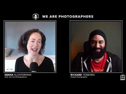 LIVE: Creating Portraits That Connect with People Photographer Richard Terborg