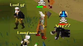 PKing with the WORST Weapon in PvP...