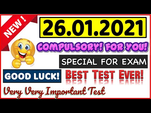 IELTS LISTENING PRACTICE TEST 2021 WITH ANSWERS | 26.01.2021