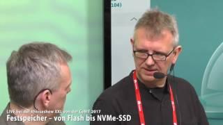 #heiseshowXXL: Festspeicher – von Flash bis NVMe-SSD