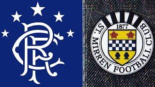 Rangers 2-0 St Mirren