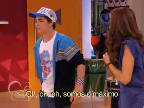 Camila ensaia com maxi violetta youtube - Violetta et maxi ...
