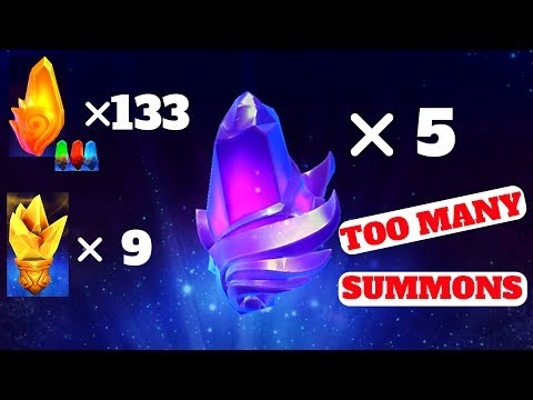 MMEG SUMMONS FOR DAYS!!! Legendary & Epic soulstone summons - Might and Magic Elemental Guardians