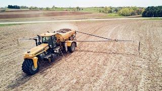airflow fertilizer application dap and potash