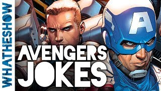 AVENGERS Dad Jokes! Try Not To Laugh At These Corny Avengers Infinity War Jokes | You Laugh You Lose