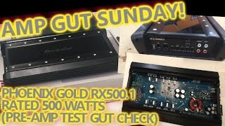 AMP GUTS! Phoenix Gold RX500.1 Pre