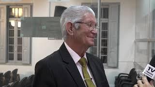 Carreira comenta matérias e fala sobre o recesso no Legislativo